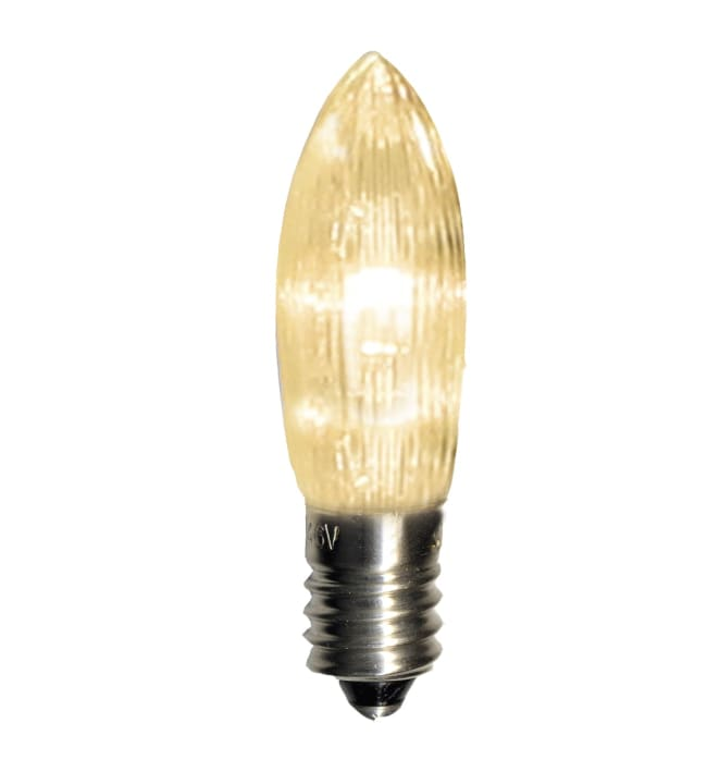 Universal LED E10 3 kpl kirkas lamppu