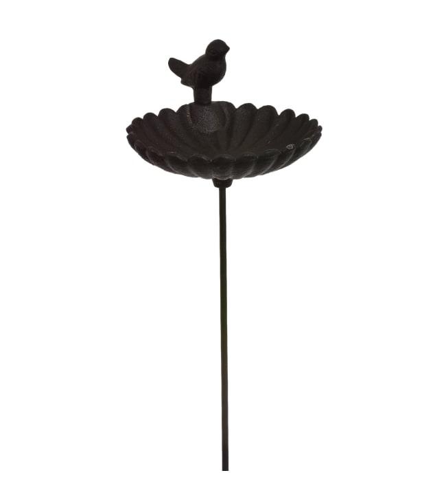 Musta valurauta linnunjuottoallas