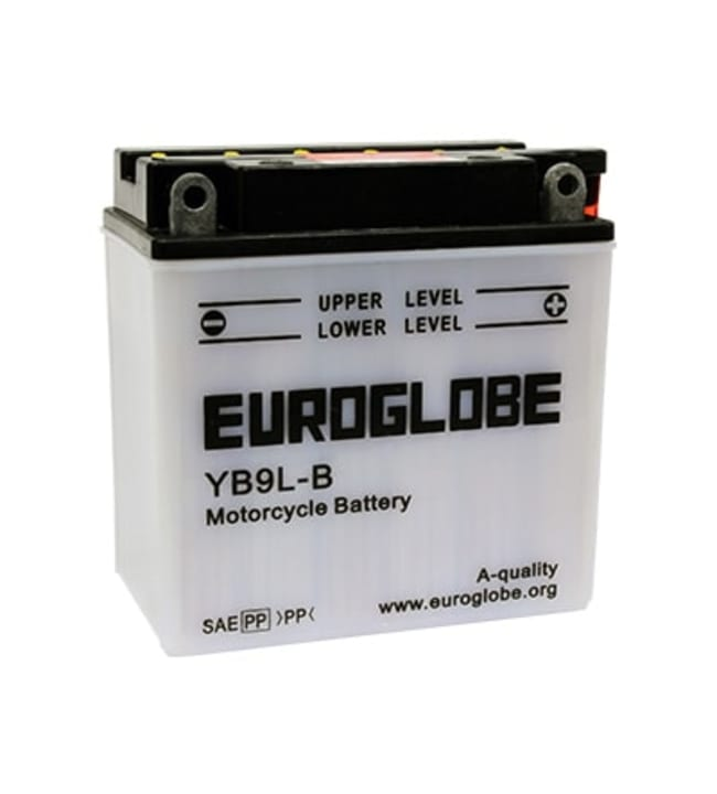 Euroglobe 12V 9Ah YB9LB -/+ pienkoneakku