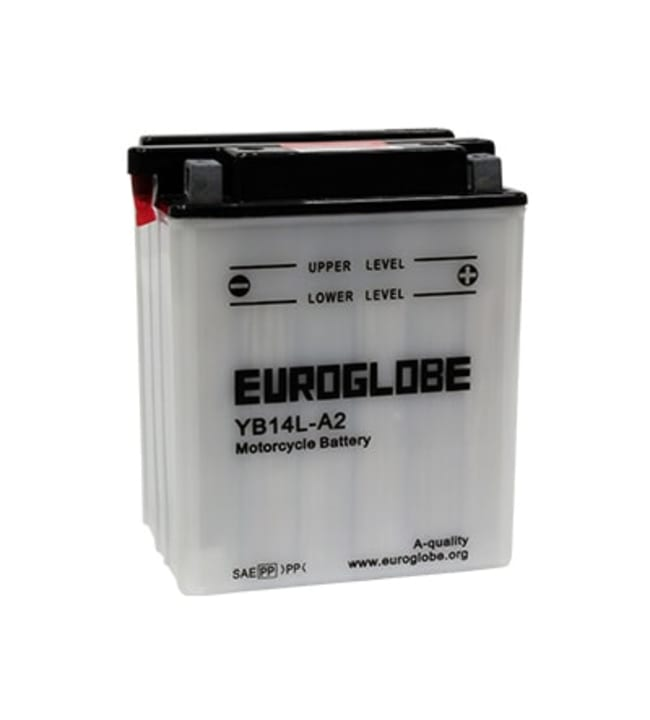 Euroglobe 12V 14Ah YB14L-A2 -/+ pienkoneakku