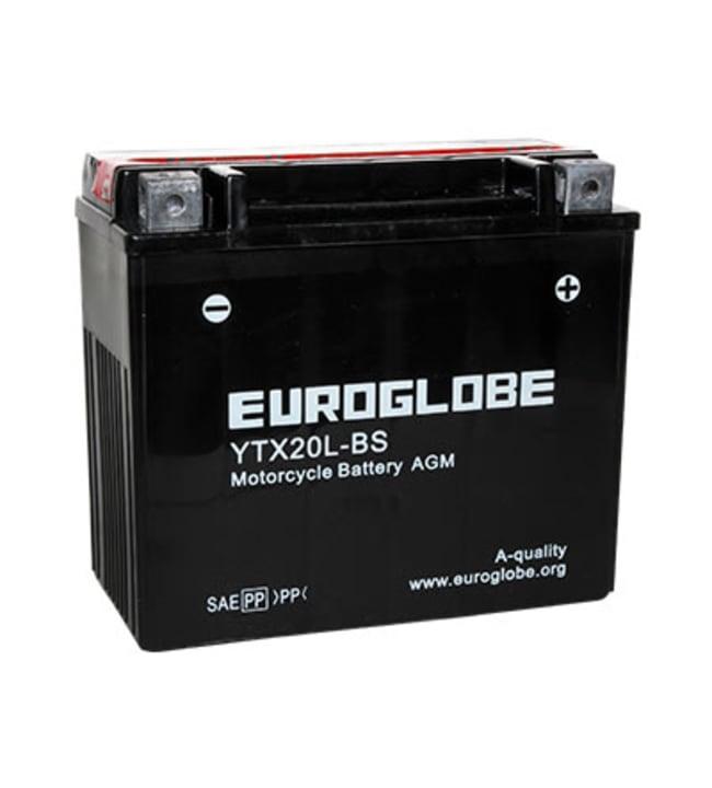 Euroglobe 12V 18Ah YTX20L-BS -/+ pienkoneakku