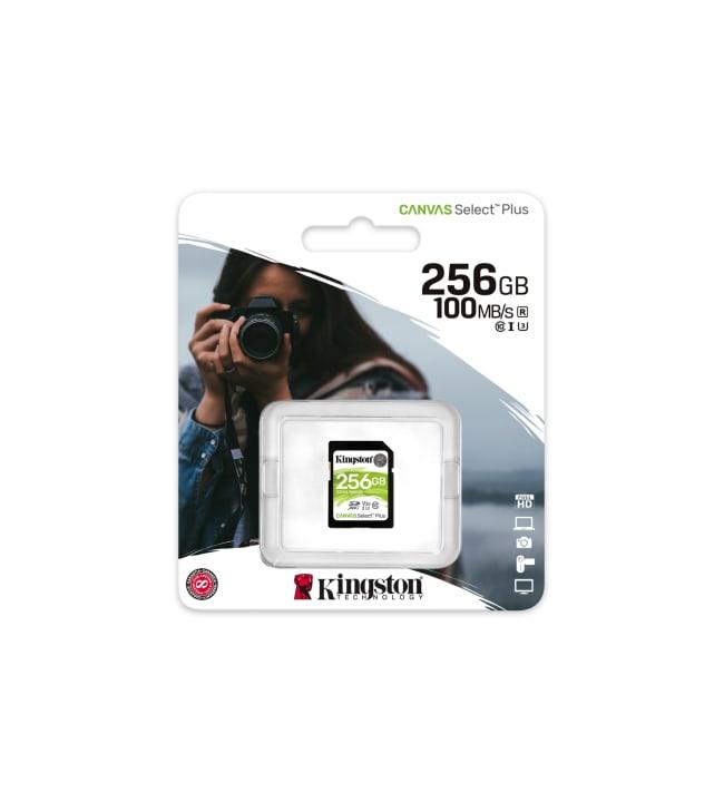 Kingston Canvas Select Plus 256GB SDXC muistikortti