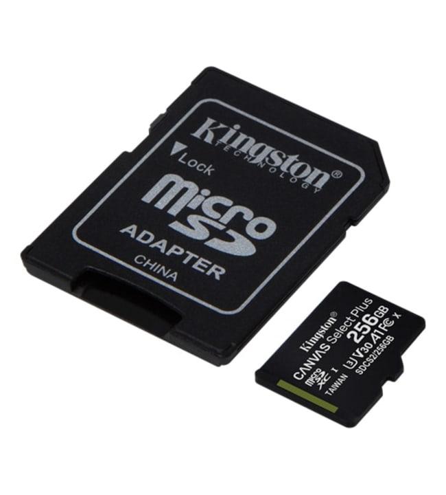 Kingston Canvas Select Plus 256GB MicroSDXC muistikortti