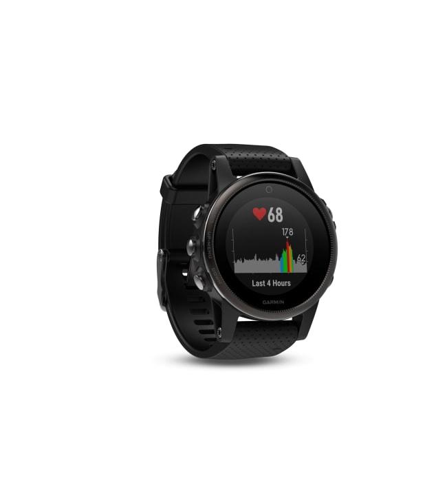 Garmin fenix 5S Sapphire musta GPS-multisportkello