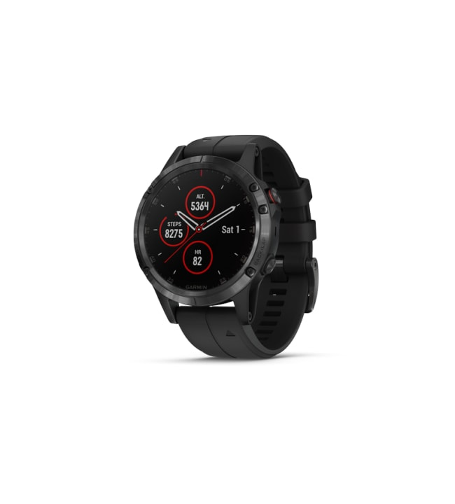 Garmin fēnix 5X Plus Sapphire musta GPS-älykello