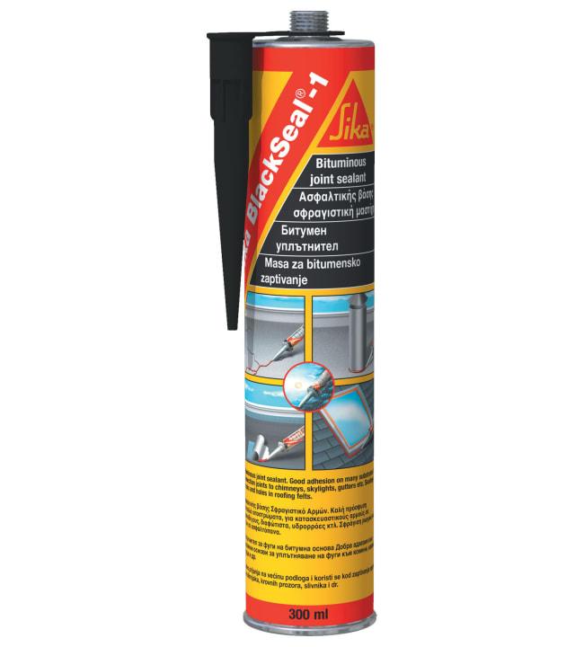 Sika Blackseal -1 musta 300 ml tiivistysmassa