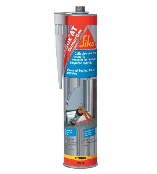 Sikaflex At-Connection harmaa 300 ml saumamassa