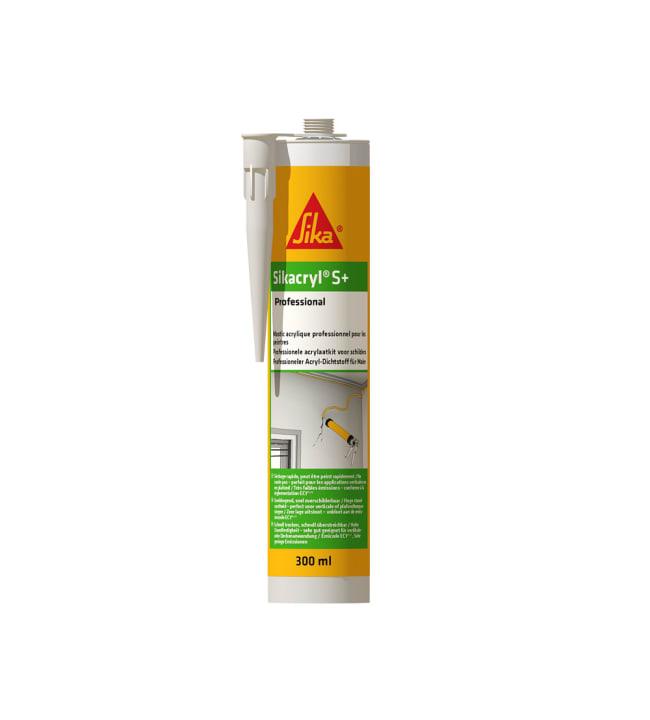 Sikacryl-S+ valkoinen 300 ml saumamassa