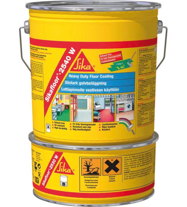Sikafloor-2540W RAL7032 6kg epoksihartsi lattiapinnoite