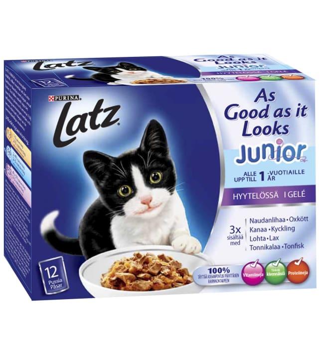 Latz As Good As It Looks junior 12 x 100 g hyytelö annospussilajitelma