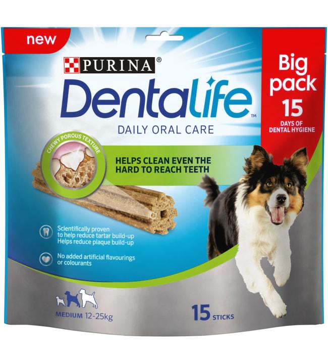 Purina Dentalife Medium 345g Big Pack purutikku