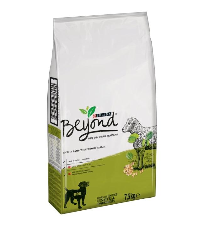 Purina Beyond 7,5 kg Lammasta ja täysjyväohraa