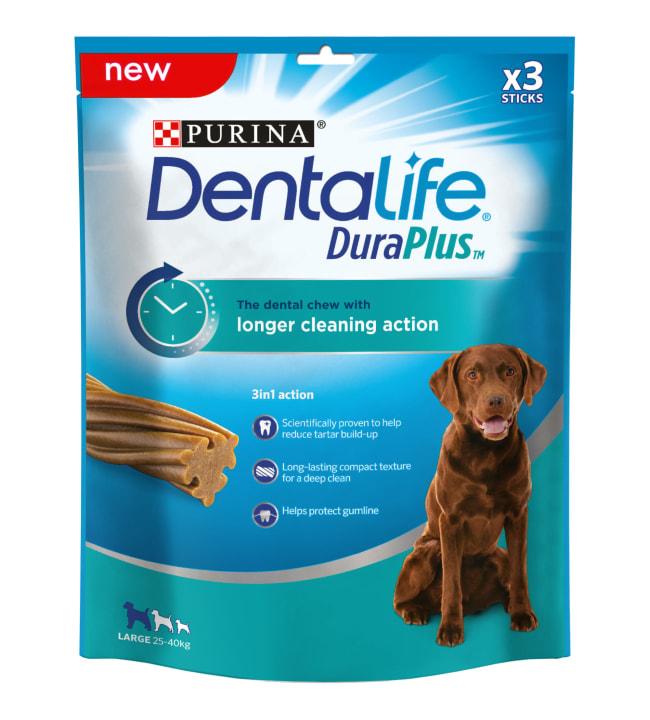 Purina Dentalife 243g Dura Plus Large