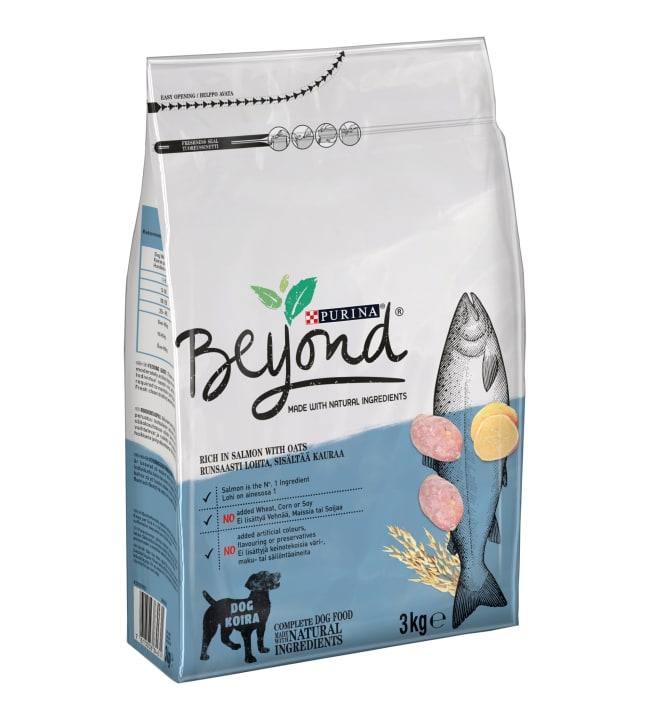 Purina Beyond 3kg lohta ja kauraa
