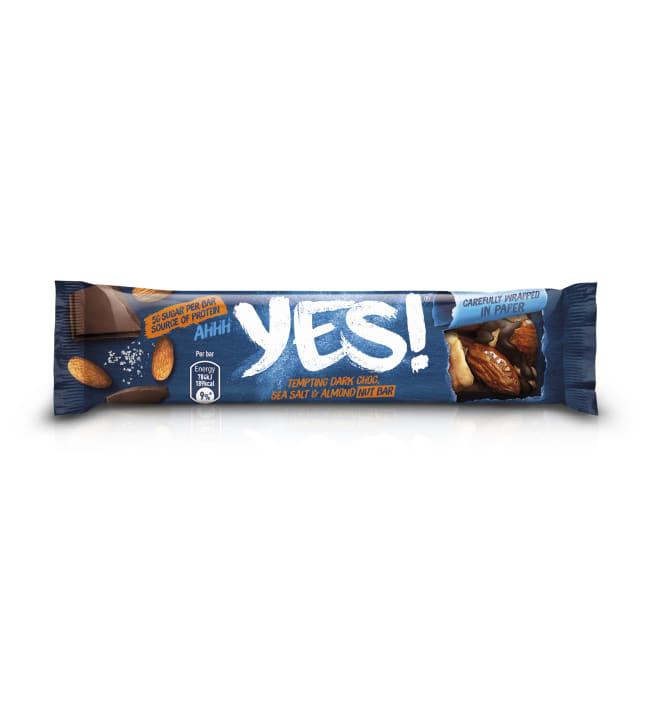 YES! Sea Salt + Dark Chocolate Nut Bar 35 g pähkinäpatukka