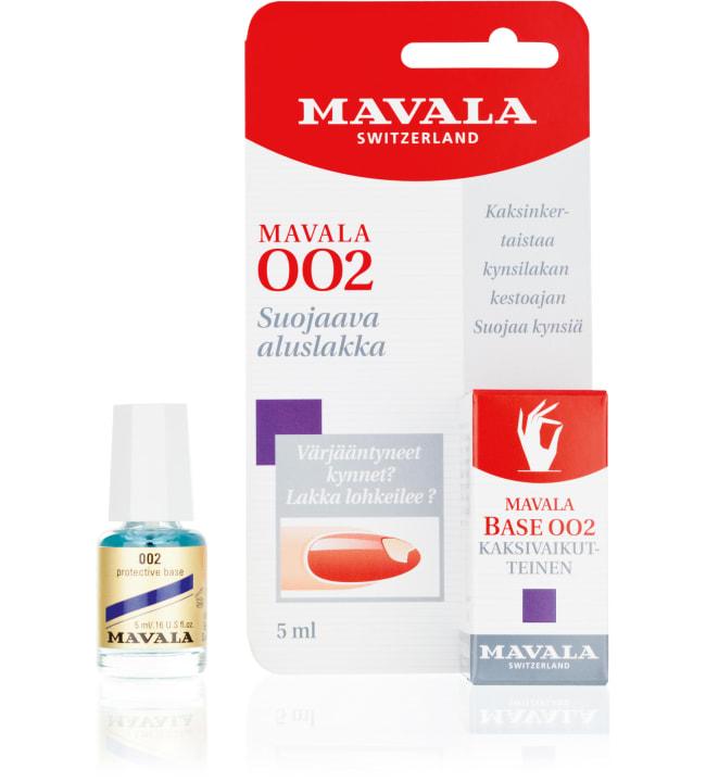 Mavala 002 kaksivaikutteinen aluslakka