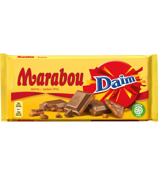 Marabou Daim 200 g suklaalevy
