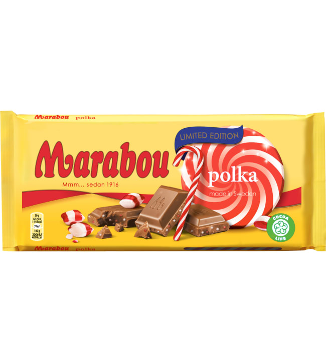 Marabou Polka 200 g suklaalevy