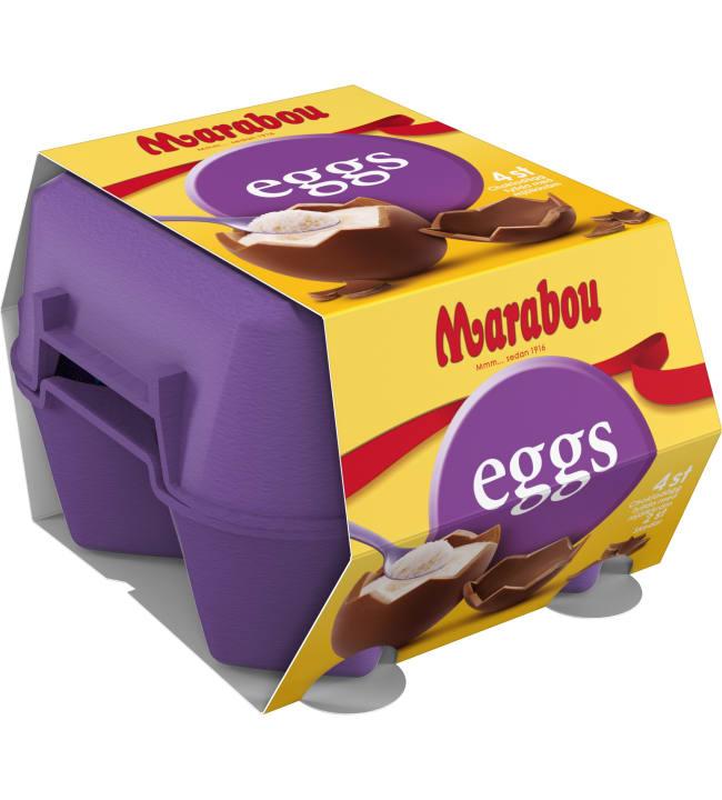 Marabou Eggs 136 g suklaatäytemuna