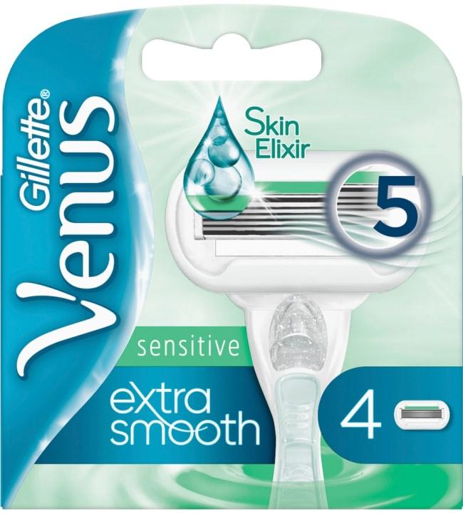 Venus Extra Smooth Sensitive 4 kpl teräpakkaus