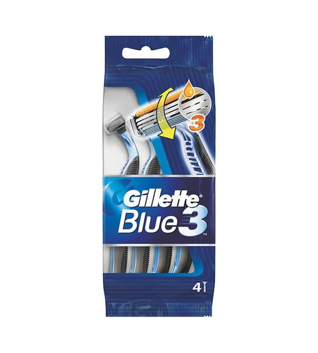Gillette Blue III 4 kpl varsiterät