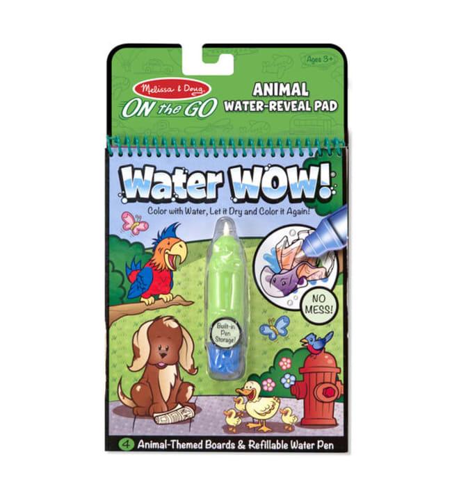 Melissa & Doug Water Wow eläimet vesivärikirja