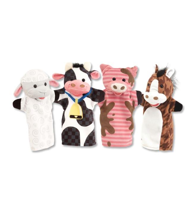 Melissa & Doug käsinuket: Maatilan eläimet