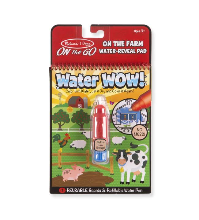 Melissa & Doug Water Wow Maatila vesivärityssetti