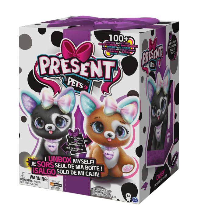 Present Pets Rainbow Glitter yllätyslemmikki
