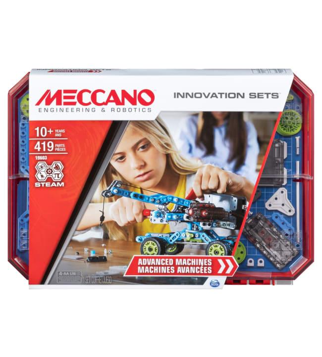 Meccano Build 7 - Advanced Machines rakennussarja