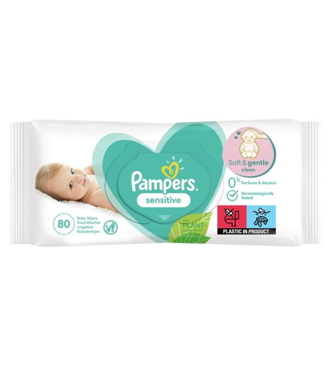 Pampers Sensitive puhdistuspyyhe