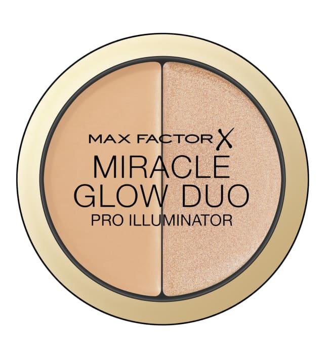 Max Factor Miracle Glow Duo 8 g korostusväri