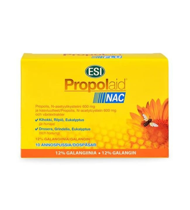 ESI Propolaid NAC 10 pss ravintolisä
