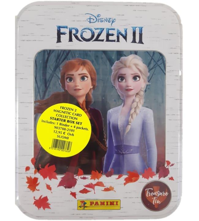 Disney Frozen 2 Magnetic keräilykortit aloituspakkaus