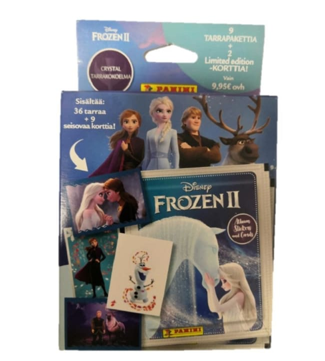Disney Frozen 2 Crystal -9 tarrapaketin laatikko 1/2020
