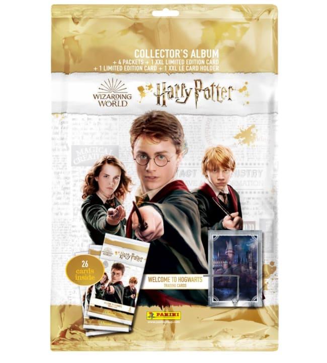 Harry Potter Welcome to Hogwarts keräilykortit aloituspakkaus