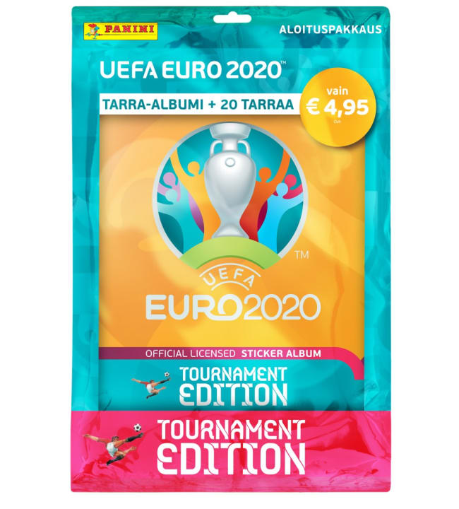 Euro 2020 Tournament Edition aloituspakkaus
