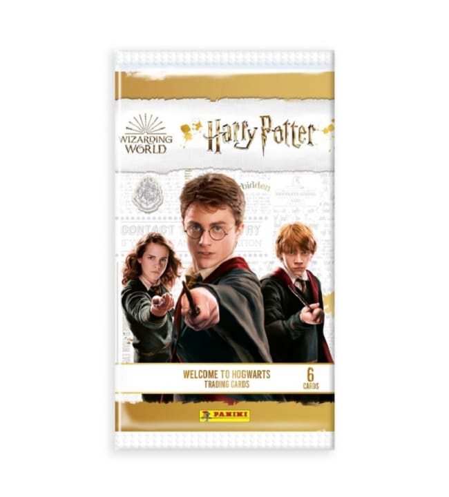 Harry Potter Welcome to Hogwarts keräilykortit
