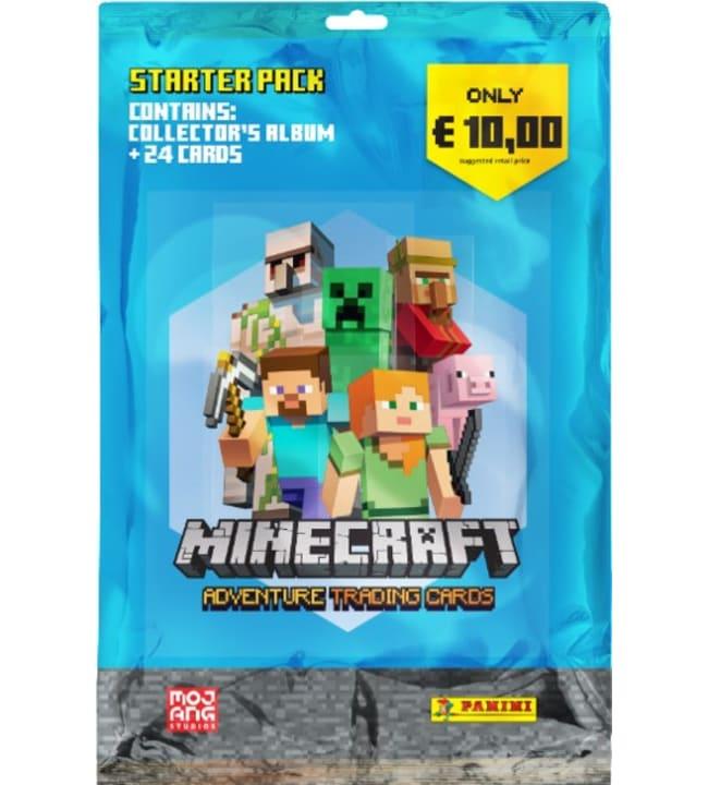 Minecraft-aloituspakkaus keräilykortit