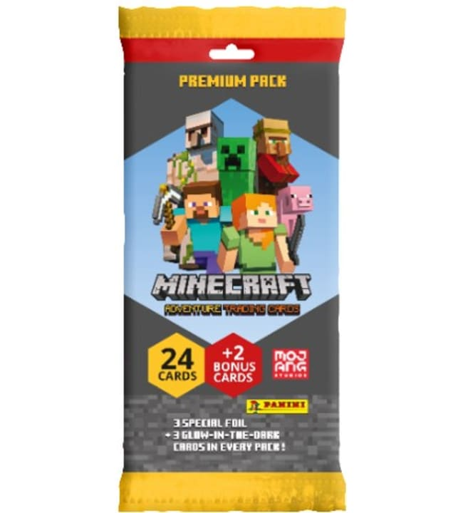 Minecraft Fat pack keräilykortit