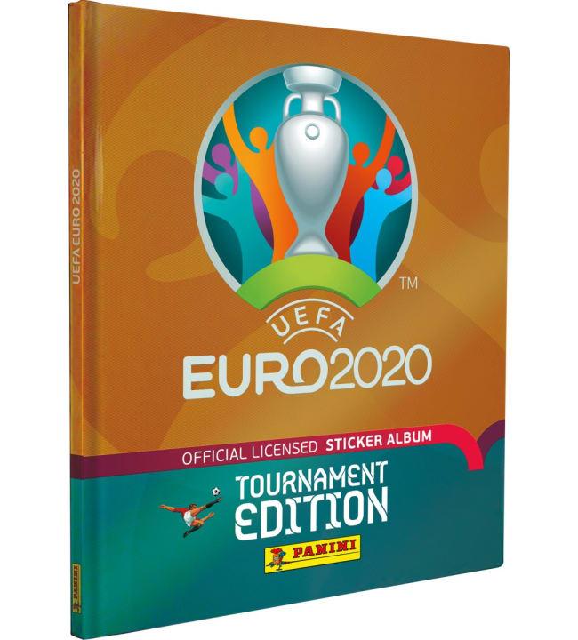 Euro 2020 Tournament Edition keräilyalbumi