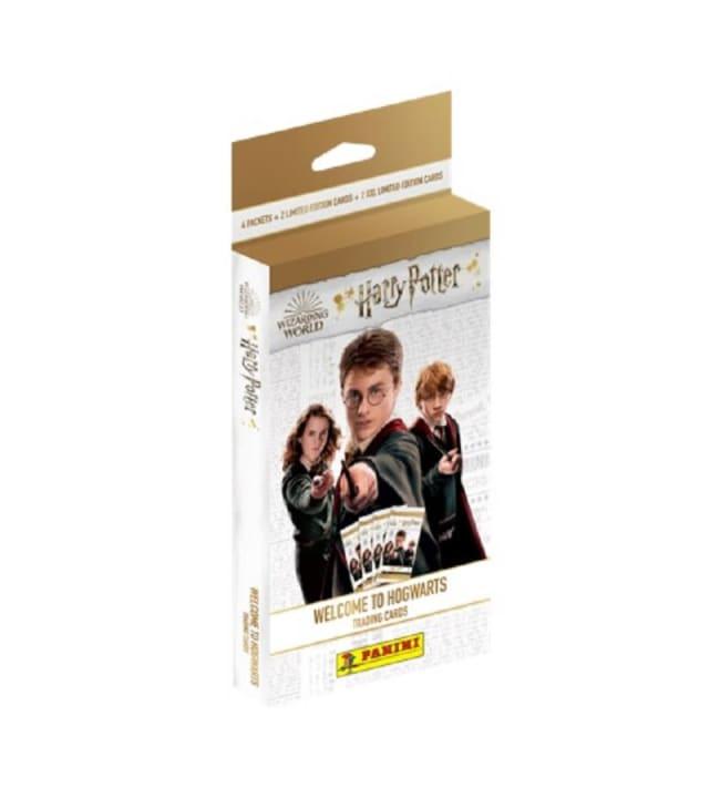Harry Potter Welcome to Hogwarts 4 korttipaketin laatikko