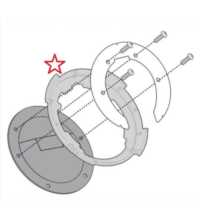 Givi Tanklock BF01 kiinnike