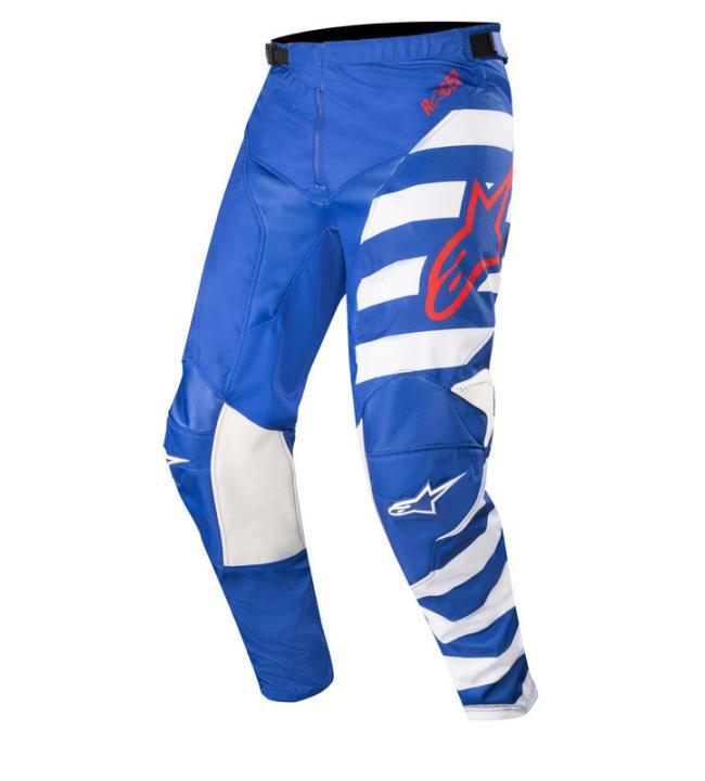 Alpinestar Racer Braap sini/valko/punainen housut