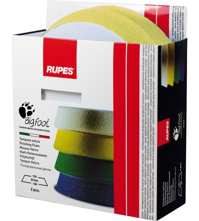 Rupes fine 180mm kiillotustyyny, 2kpl / pakkaus