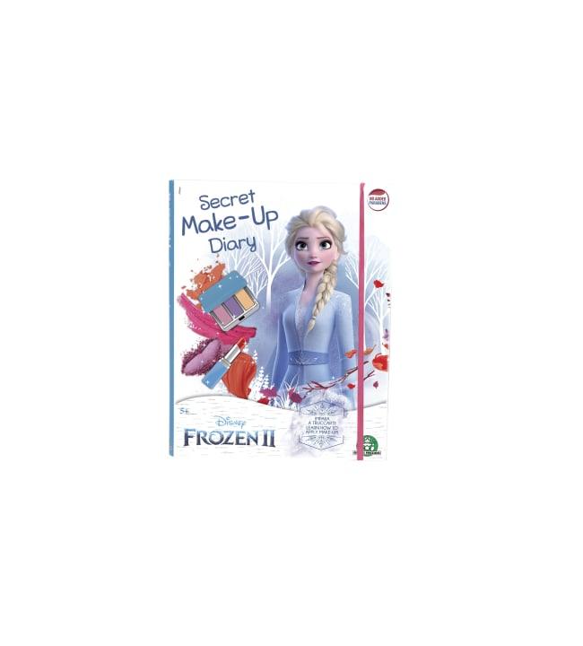 Frozen 2 Secret Make-up Diary meikkikirja