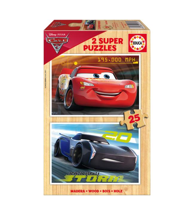 Educa Cars 3 2x25 palapeli
