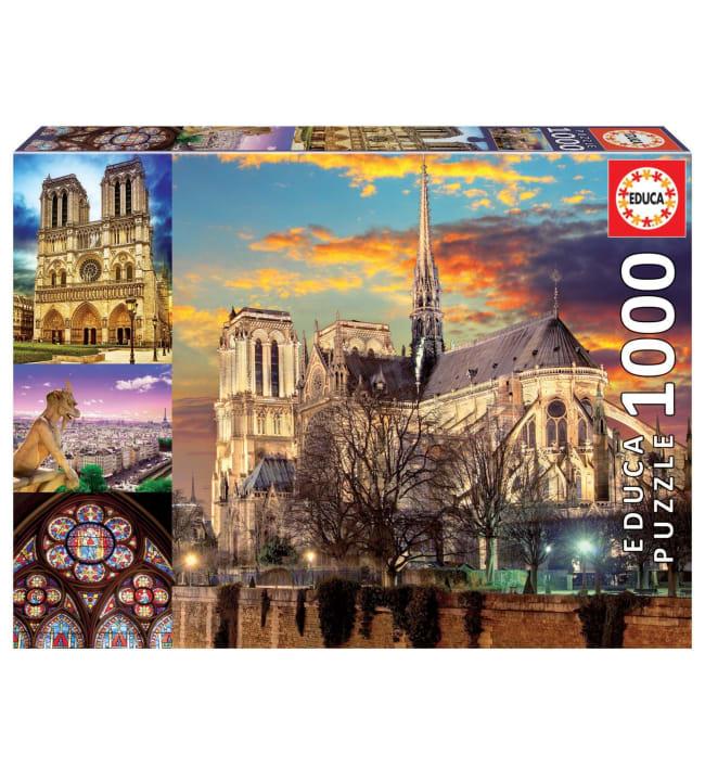 Educa Notre Dame Collage 1000p palapeli