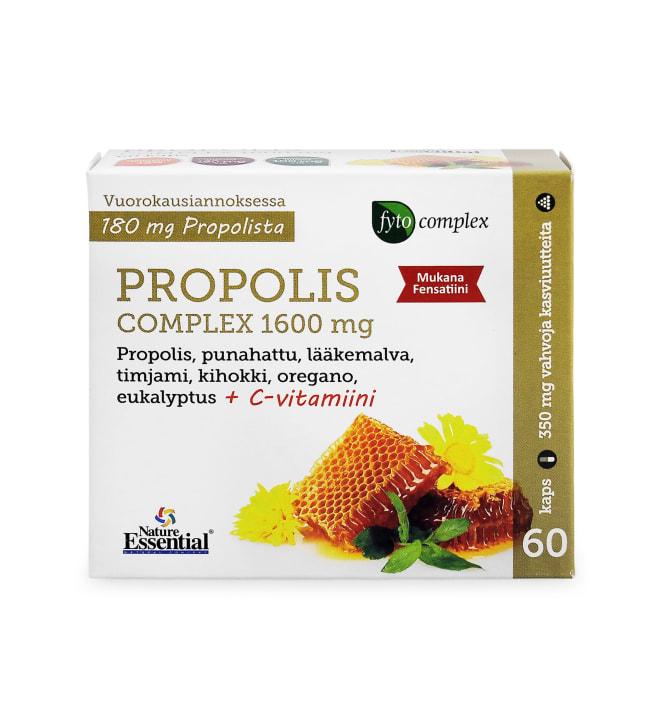 Nature Essential Propolis Complex 60 kaps. ravintolisä