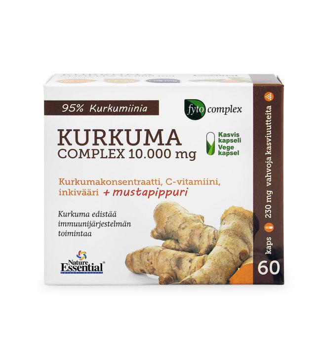Nature Essential Kurkuma Complex 60 kaps. ravintolisä